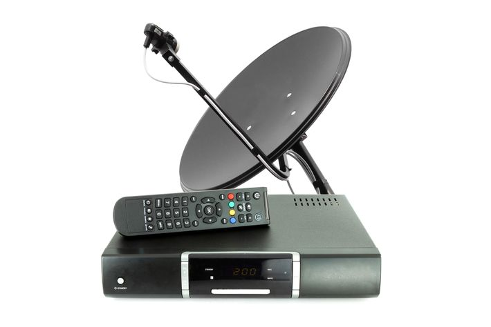 A satellite TV system